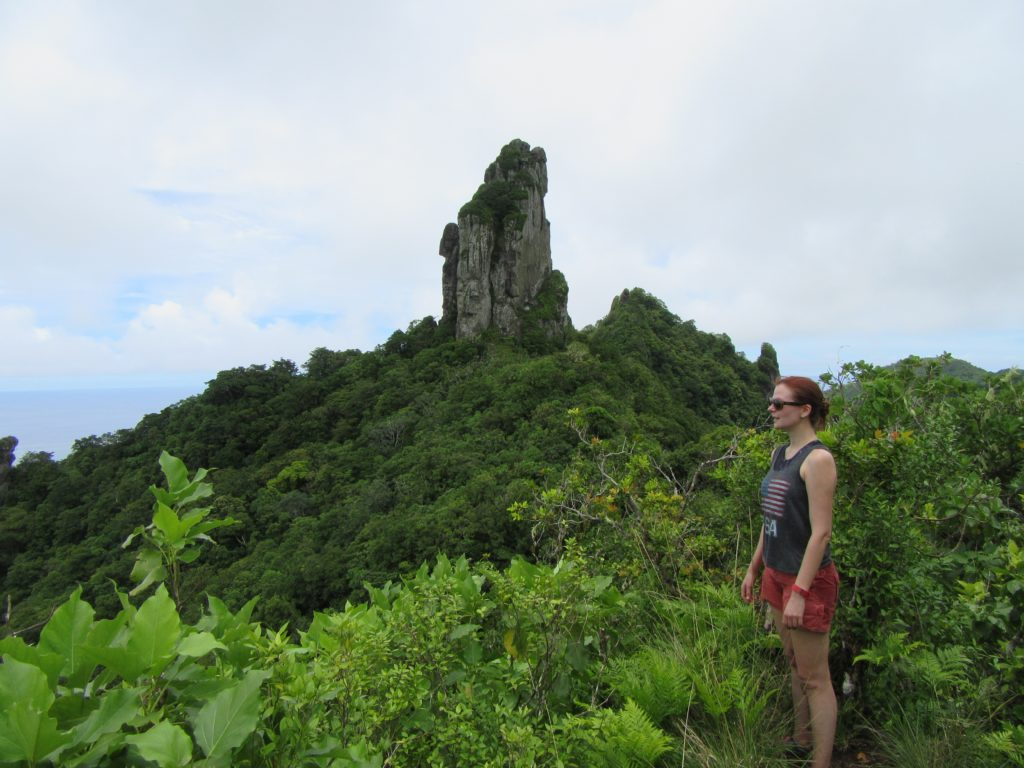 Hike to the Needle in rarotonga